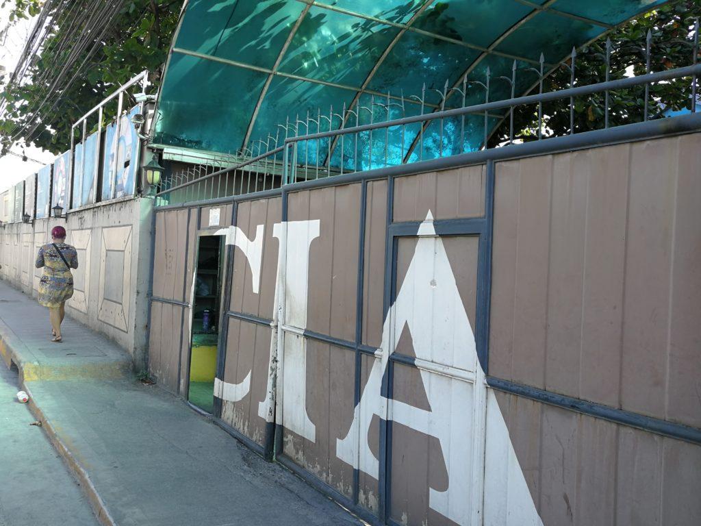 CIA(Cebu International Academy)のゲート