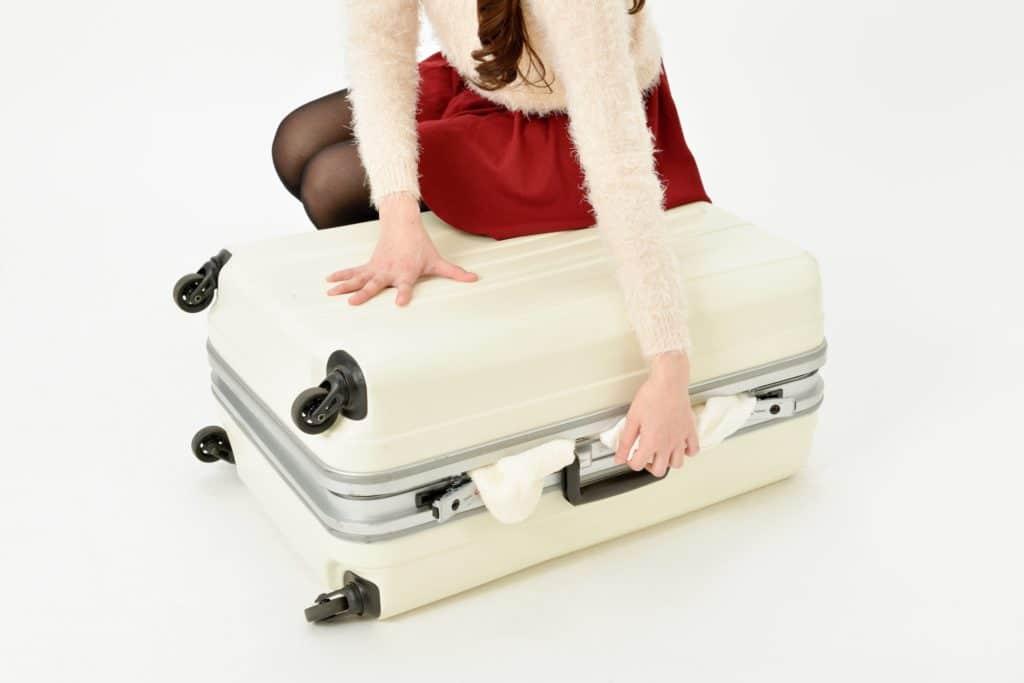 フィリピン留学で服装を減らして荷物をコンパクトにまとめた画像