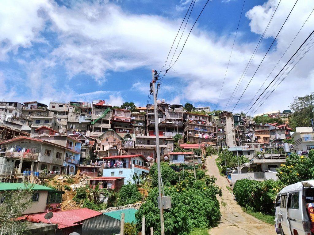 バギオのスラム街