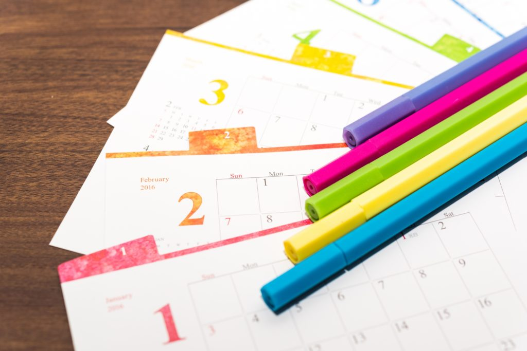 IELTSの対策ステップ5:スケジュールと学習方法を決めよう
