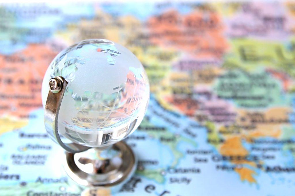 マニラ留学と世界地図