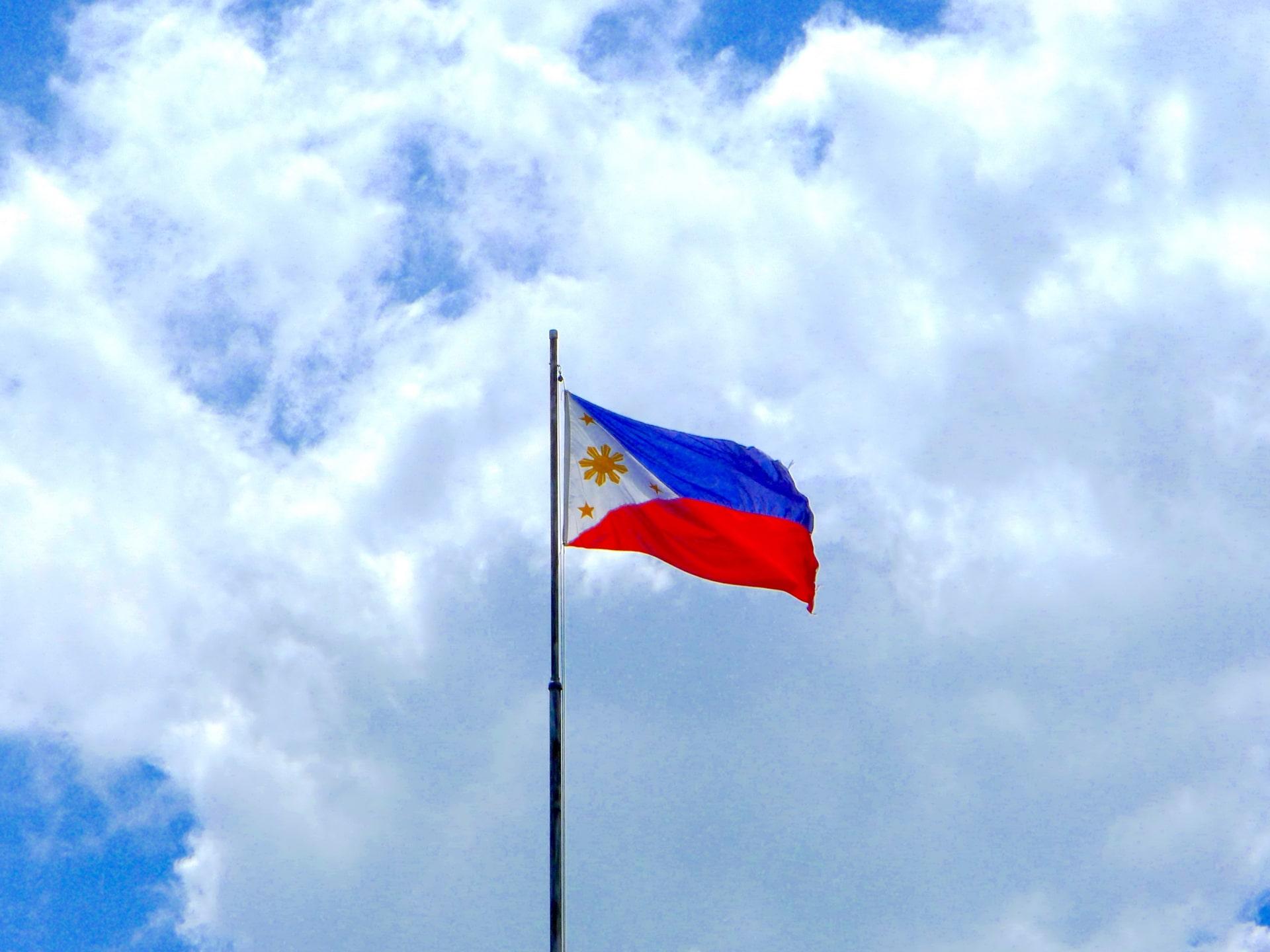 フィリピン留学体験談:フィリピン留学の国旗