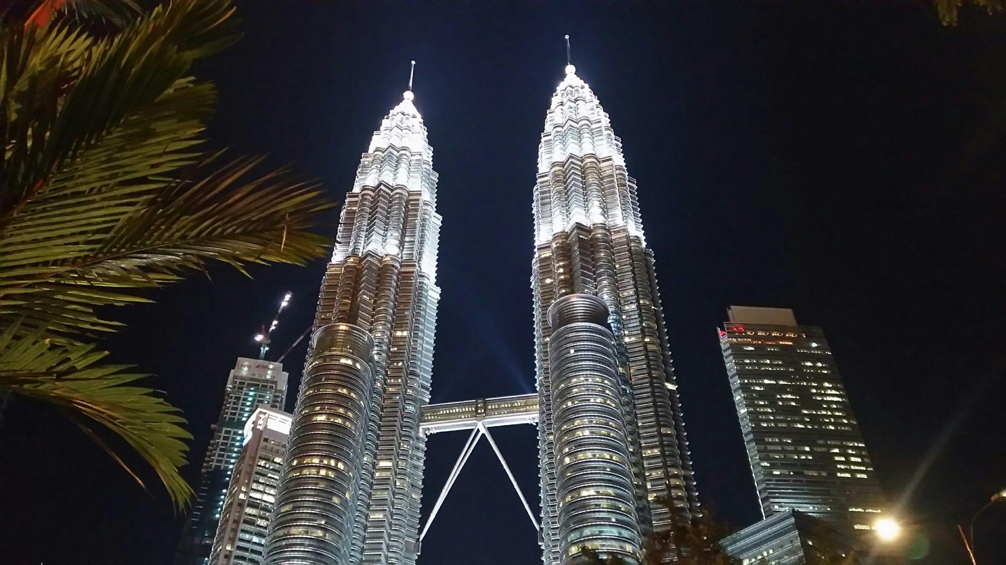 マレーシア:ペトロナスタワーの画像
