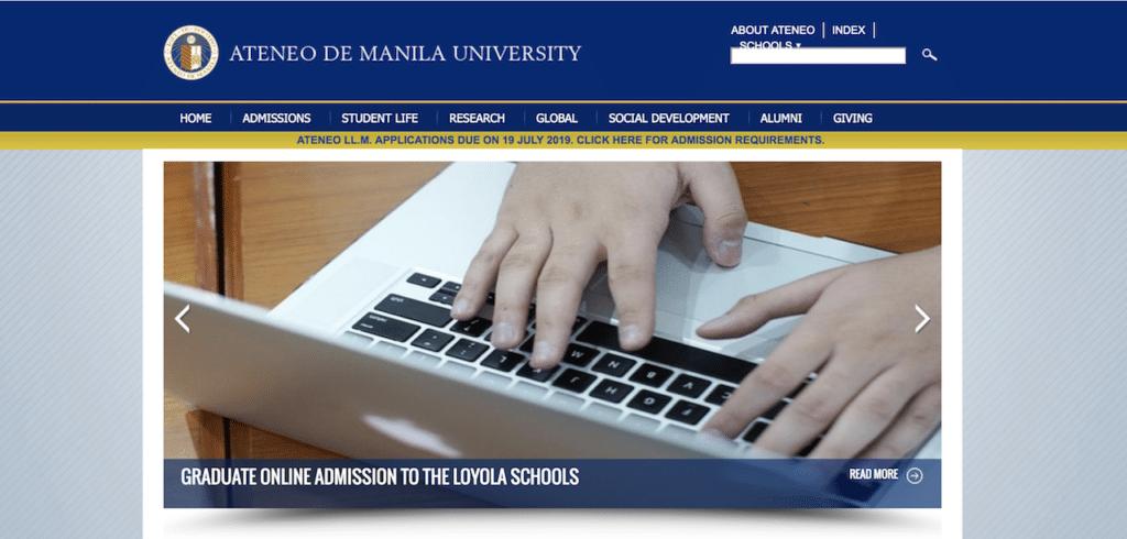 フィリピン大学留学におすすめの学校2:アテネオ・デ・マニラ大学