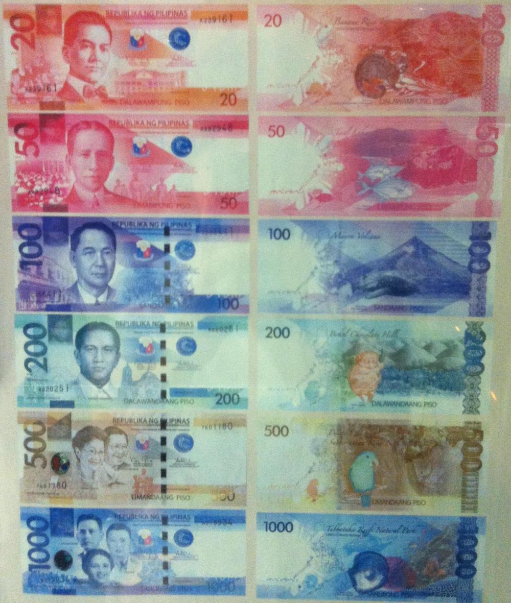 フィリピンの通貨「ペソ」