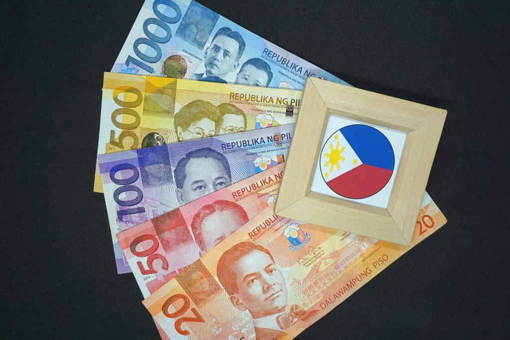 フィリピンで使わていてる通貨は「ペソ」